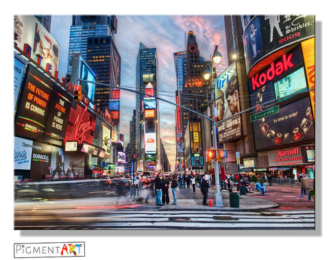 New York Cityscape Landscape Canvas - canvas wall art prints uk