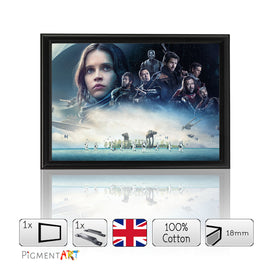 Rogue One Film 2017 Framed A4