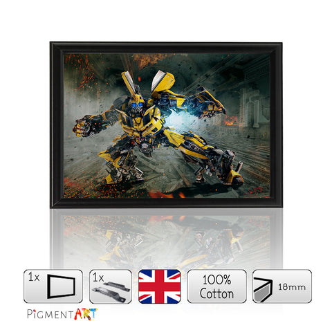 Transformers Bunblebee - Framed Size A4