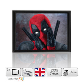 Deadpool Film 2016- Framed Size A4