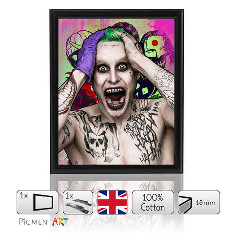 Suicide Squad The Joker - Size A4