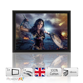 Gal Gadot Wonder Woman Framed A4 - FLM0081