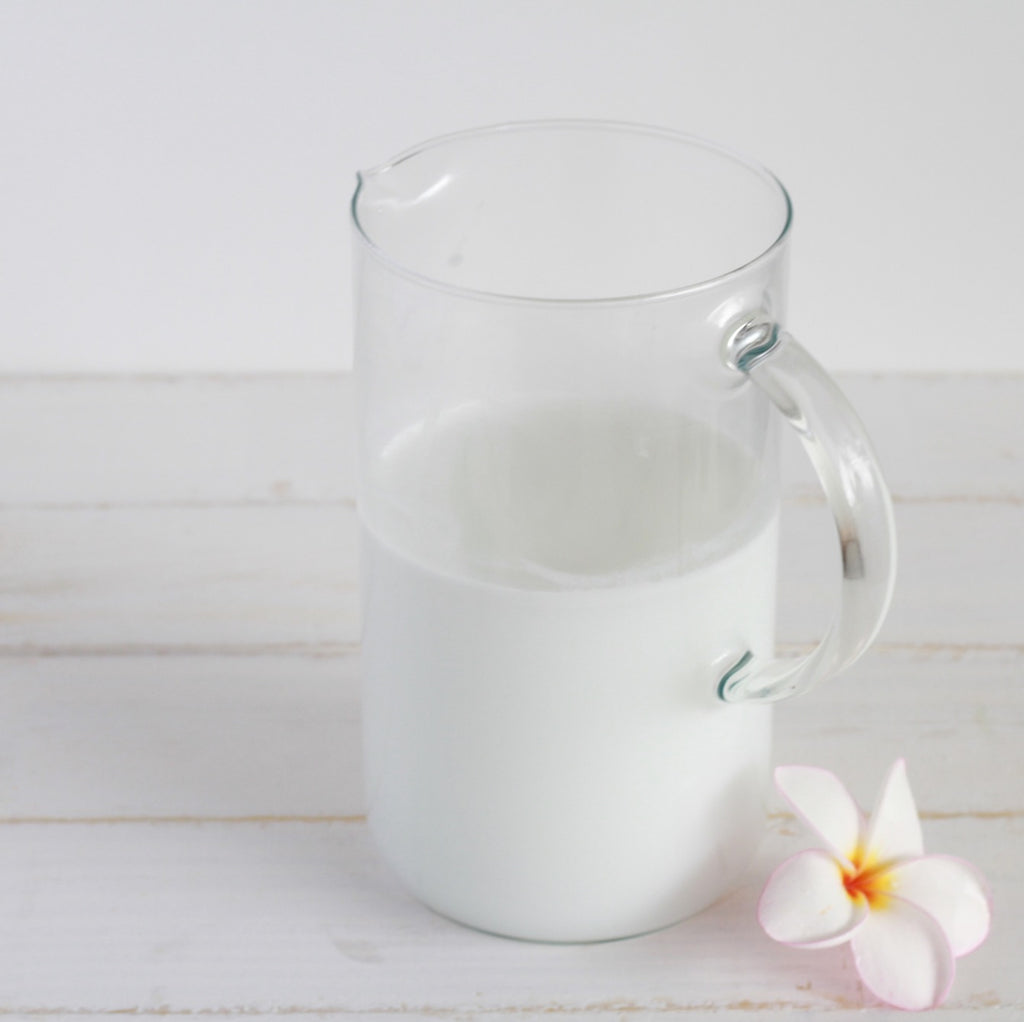 homemade coconut almond milk