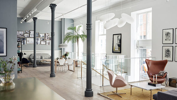 PHOTO OF FRITZ HANSEN SHOWROOM
