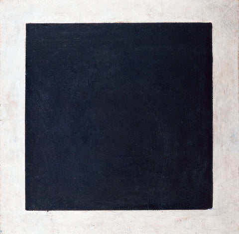 The Black Square by Kazimir Malevich