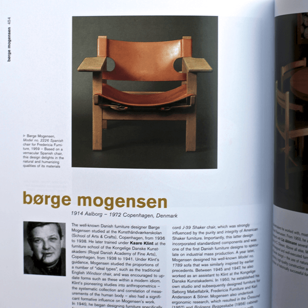 Coffee Table Book - Scandinavian Design. Inner page 2 | LARSEN & ERIKSEN