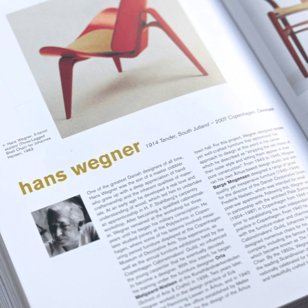 Coffee Table Book - Scandinavian Design. Inner page 5 | LARSEN & ERIKSEN