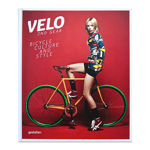 Coffee Table Book - Velo (2nd Gear): Bicycle Culture And Style. Front cover | LARSEN & ERIKSEN