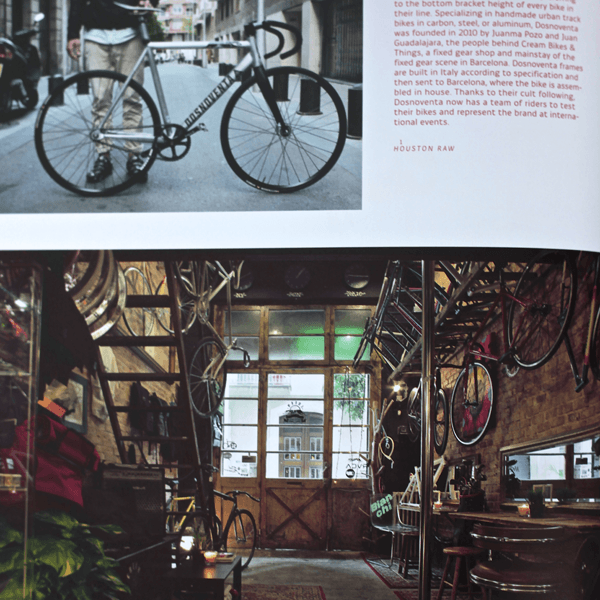 Coffee Table Book - Velo (2nd Gear): Bicycle Culture And Style. Inner page 6 | LARSEN & ERIKSEN