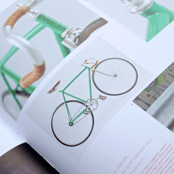 Coffee Table Book - Velo (2nd Gear): Bicycle Culture And Style. Inner page 5 | LARSEN & ERIKSEN