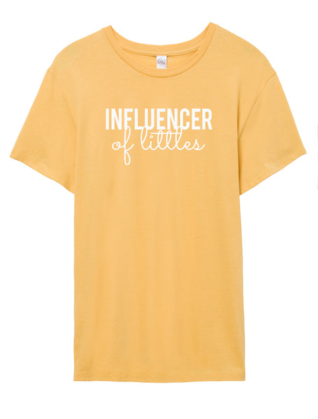 Influencer of Littles Boyfriend Tee - Fit Darlings Christian Tshirts