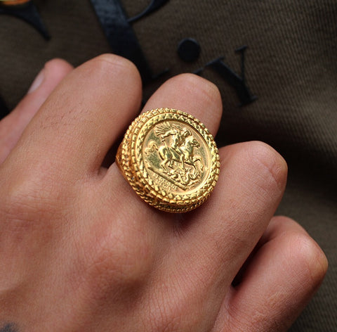 Basket Sovereign Ring