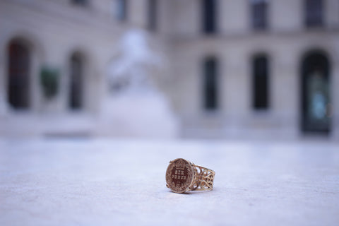22ct Six Pence Ring