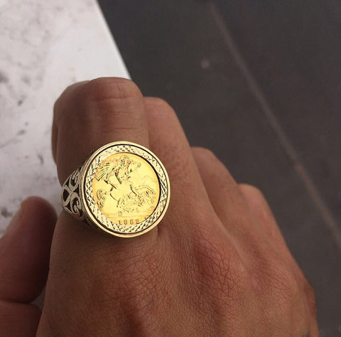 Half Sovereign George Ring