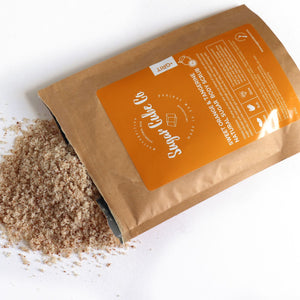Orange + Tangerine GRIT Deep Exfoliating Tan Scrub