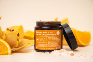 Organic Salt Soak - Italian Sweet Orange - 125gm