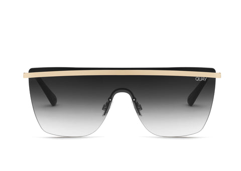 Get Right - Gold / Black fade lens