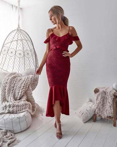 TAYLOR DRESS - RED