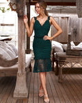 CORDELIA DRESS -GREEN