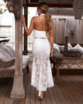 JANELLE DRESS -WHITE