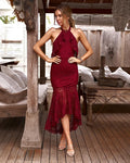 JANELLE DRESS - RED