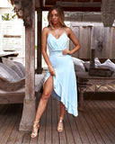MORGAN DRESS - BABY BLUE