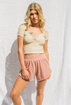 LA VIE EN ROSE SHORTS