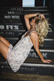 POSITANO BABYDOLL DRESS