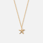 STARFISH CHARM NECKLACE