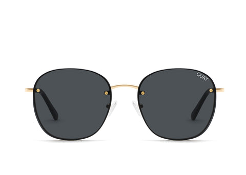 Jezabell Rimless - Gold / Smoke Lens