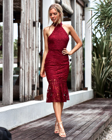 SONIA DRESS RED