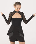 Bewitching - Long Sleeve High Neck Bodysuit