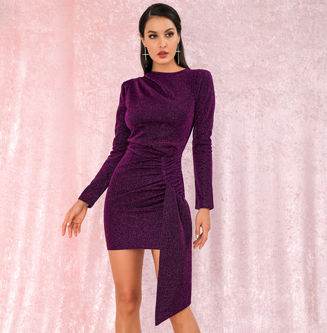 HAIDEE DRESS - PURPLE