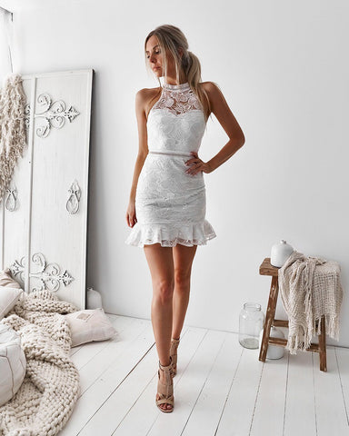 LILO DRESS - WHITE