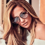 QUAY X JLO All In Mini - Tort / Brown Fade Lens