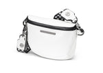 BUM BAG - White / Gun