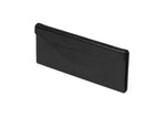 EMBOSSED TRI FOLD CASE - Black / Black