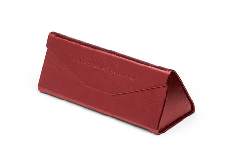 EMBOSSED TRI FOLD CASE - Red