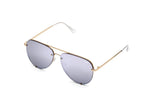 HIGH KEY RIMLESS MINI Gold / Lilac Mirror