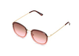 Jezabell Chain - Gold / Brown Pink Lens