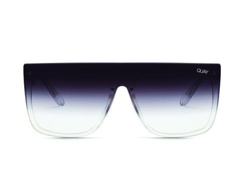 QUAY X JLO Jaded - Clear / Black Fade Lens