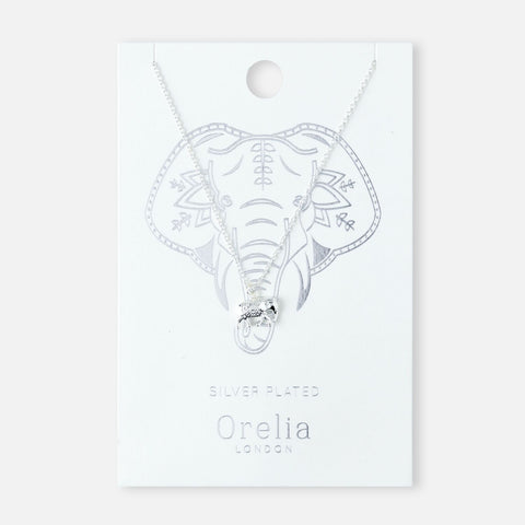 SPIRITUAL ELEPHANT NECKLACE - SLV