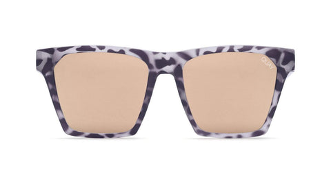 Quay Australia Sunglasses Alright - Tort / Gold