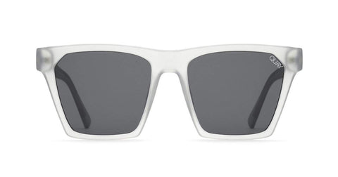 Quay Australia Sunglasses Alright - White / Smoke