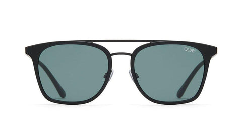 Quay Australia Sunglasses Byron - Black / Green