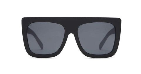 Quay Australia Sunglasses Cafe Racer - Black / Smoke
