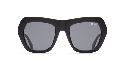 Quay Australia Sunglasses Common Love - Black / Smoke