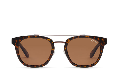 Quay Australia Sunglasses Coolin - Tort / Brown Lens