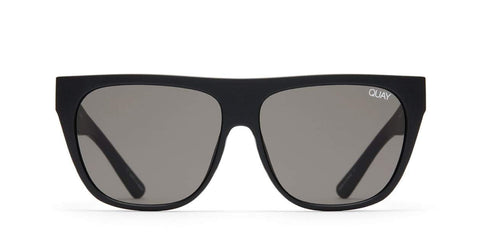 Quay Australia Sunglasses Drama by Day - Black / Smoke Lens