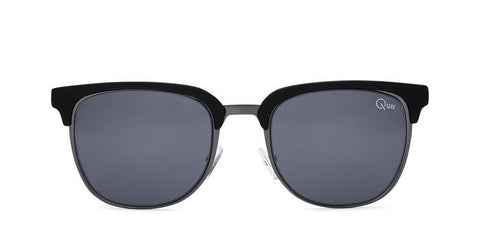 Quay Australia Sunglasses Flint - Black / Smoke